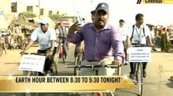 Video : Chennai gears up for Earth Hour
