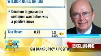 Video : Wilbur Ross on GM bankruptcy