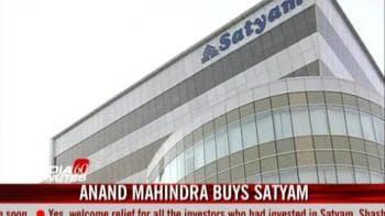 Video : Tech Mahindra wins bid for Satyam