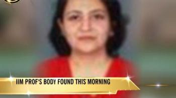 Video : IIM Indore professor found dead on campus, police allege murder