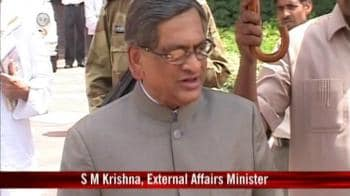 Video : Terror has nothing to do with Kashmir: Krishna