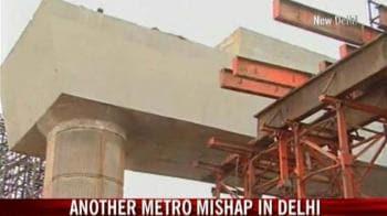 Video : Yet another metro mishap in Delhi