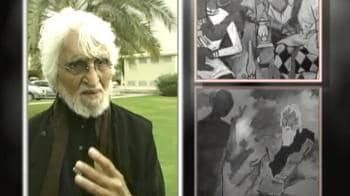 Video : M F Husain's exile to end?