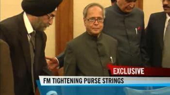 Video : FM tightening purse strings