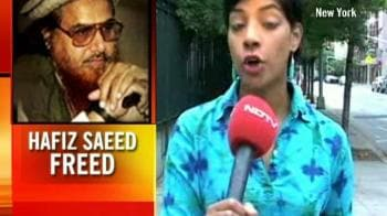 Video : What US feels of Saeed's release?