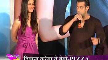 Videos : Salman desires a size zero pizza