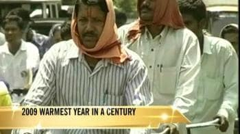 Video : 2009 warmest year in over 100 years