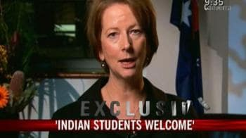 Video : Oz Deputy PM welcomes Indian students