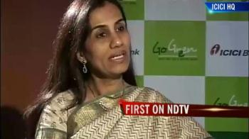 Video : Chanda Kochhar on ICICI Bank's Q2 results
