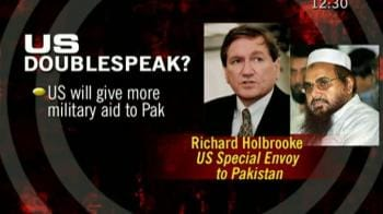 Video : Saeed's release has disturbed us all: Holbrooke