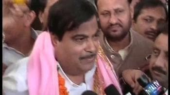 Video : Will not let the party, seniors down: Gadkari