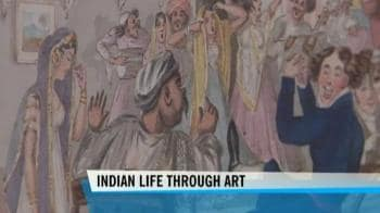 Video : Seeing Indian life though art