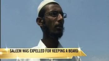 Video : Banned over a beard?