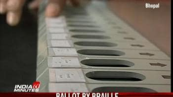 Video : Ballot by braille