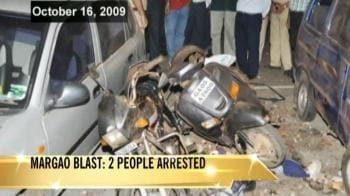 Video : Goa blasts case: Two arrested
