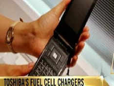 Toshiba's fuel cell charger