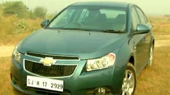 Videos : 'Cruze' with Chevrolet