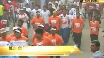 Video : Stars run with Delhi at the Half Marathon