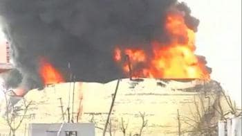 Video : Jaipur inferno: Fire spreads to the ground