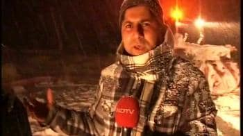 Video : J&K avalanche: NDTV reports from the rescue site
