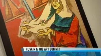 Video : IA Summit hesitant to display MF Husain's paintings