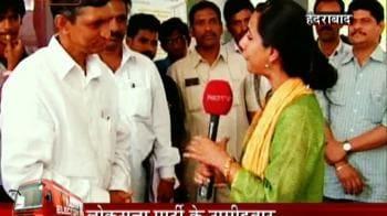 Video : Now in Hyderabad...