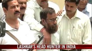 Video : Cops nab Lashkar's head hunter in India