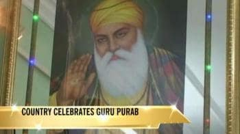 Video : Country celebrates Guru Purab