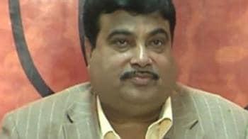 Video : Nitin Gadkari working on new Team BJP