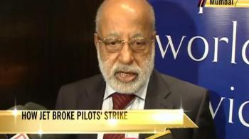 Video : How Jet broke the strike