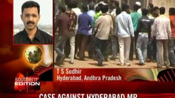 Video : Hyderabad MP booked for assault