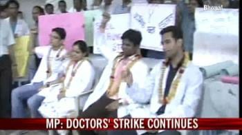 Video : Doctors' strike continues in MP