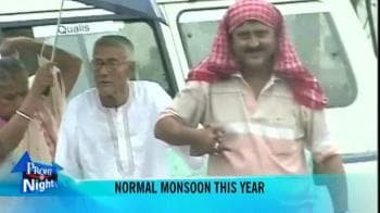 Video : IMD forecasts near normal monsoon rains