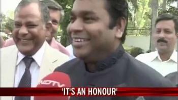 Video : Honorary doctorate for Rahman