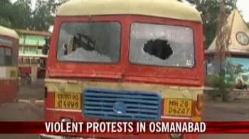Video : Osmanabad tense after MP's arrest