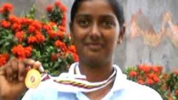 Video : Deepika back home after winning gold