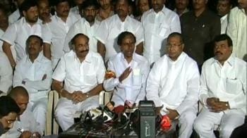 Video : Govt's statement has no clarity, betrays us: KCR