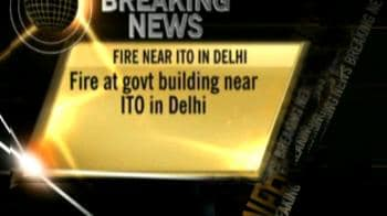 Video : Delhi building fire under control, 8 rescued