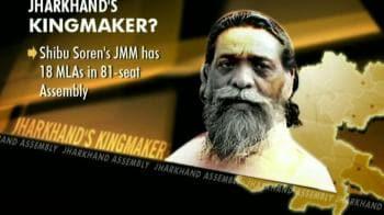 Video : Jharkhand: Congress, BJP woo Shibu Soren