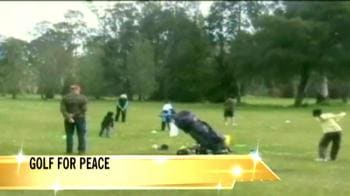 Video : Indian golfers in Melbourne join hands for peace