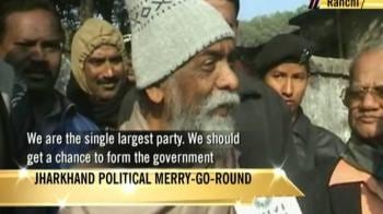 Video : Jharkhand: Political merry-go-round begins