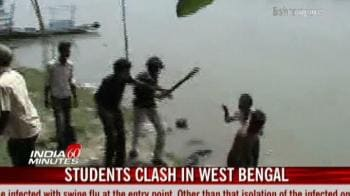 Video : Students clash in West Bengal