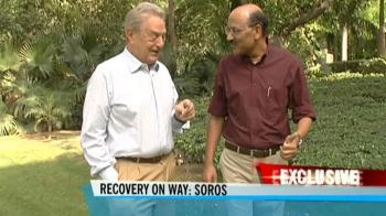 Video : Not giving up on India: George Soros