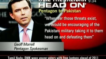 Video : Take the Taliban head on: Pentagon to Pak