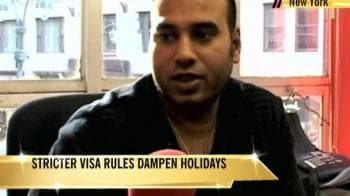 Video : Stricter visa rules dampen holidays