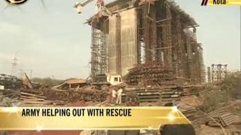 Video : Bridge collapse in Kota: Rescue operations on