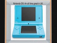 Nintendo DS ovetakes Sony PS2 in UK