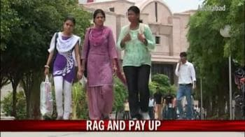 Video : Seniors fined Rs 50,000 for ragging