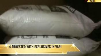 Video : Gujarat: Huge cache of explosives seized
