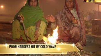 Video : Coldest night of the season in Delhi on Saturday